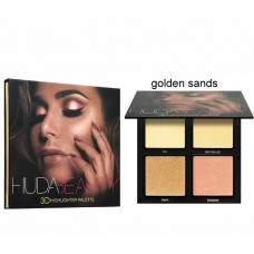 Хайлайтер Huda Beauty 3D Golden Sands (4 цвета)