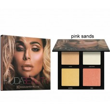 Хайлайтер Huda Beauty 3D Pink Sands (4 цвета)